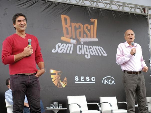 A campanha Brasil sem  Cigarro (Foto: Divulgação)