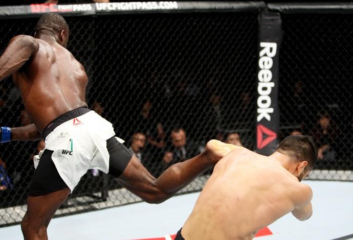Uriah Hall Gegard Mousasi UFC (Foto: Getty Images)