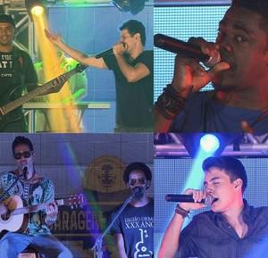 Quatro bandas na disputa, mas apenas duas voltam para a competição (Foto: TV Sergipe)