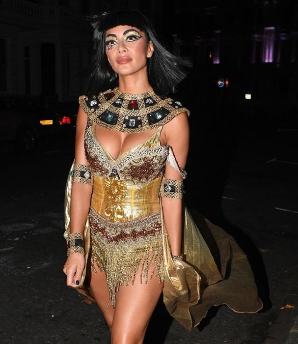Nicole Scherzinger no Halloween (Foto: AKM)