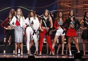 Candidatas ao posto de Miss São Paulo 2016 (Foto: Celso Tavares/EGO)