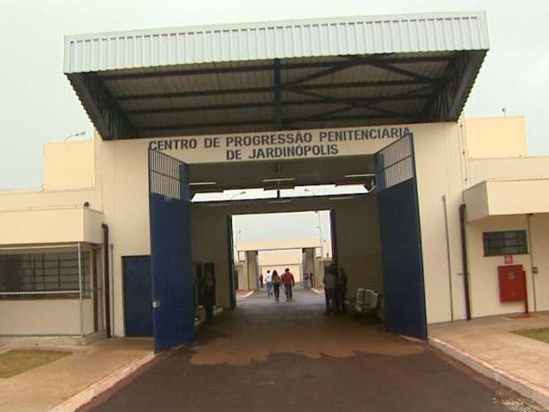 Nova penitenciária é inaugurada em distrito de Jardinópolis, SP (Foto: Paulo Souza/EPTV)