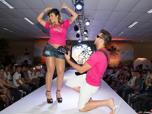 Ex-BBB Jaque Khury em evento em São Paulo (Foto: Danilo Carvalho e Thais Aline/ Ag. Fio Condutor)