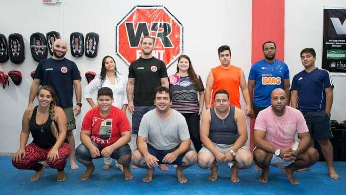 Wagner Silva equipe e integrantes desafio contra balança (Foto: Wagner Silva)