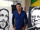 Exposição 'Pura Arte' de Ricardo dos Anjos está em Marília