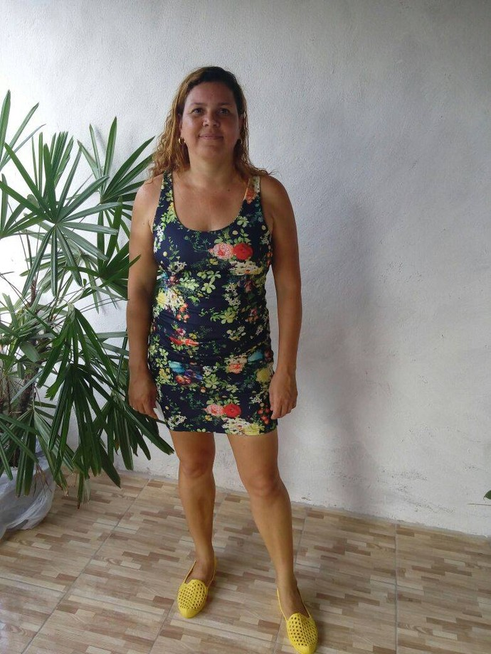 Hérica Rejane, 38 anos, adorava vestidos curtos e justos (Foto: Fernando Petrônio)