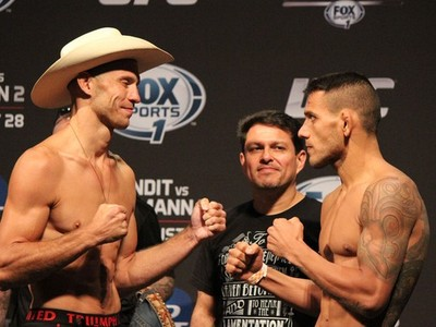 Donald Cerrone x Rafael dos Anjos, UFC Condit x Kampmann 2 (Foto: Evelyn Rodrigues)