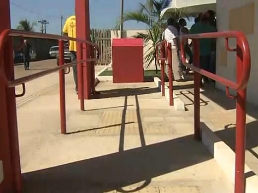 Deficientes físicos terão livre circulação (Foto: Bom dia Amazônia)