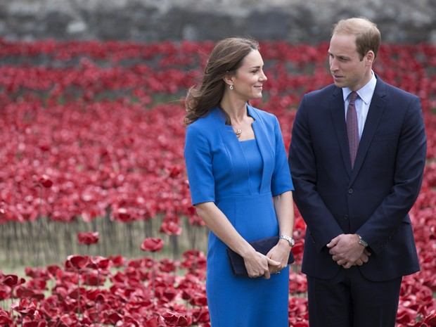 Kate Middleton grvida (Foto: Getty Images)