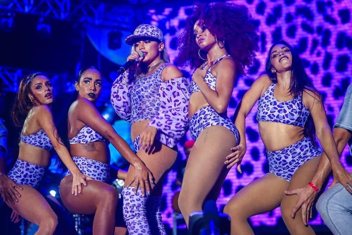 Anitta  novamente uma das grandes atraes do festival (Foto: Facebook Planeta Atlntida)