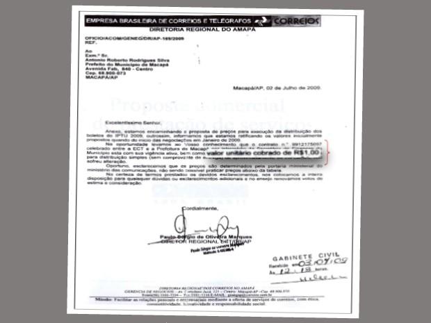 Correios ofereu proposta mais de 50% menor que a contratada (Foto: Divulgação/MP-AP)