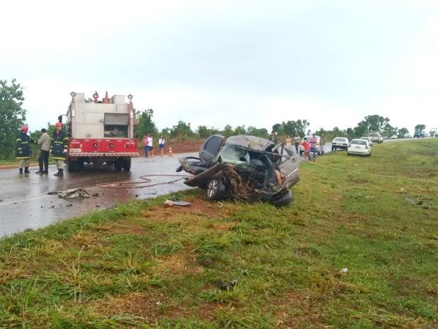 Acidente aconteceu no início da tarde deste sábado (28) na rodovia MT-130 49062a702e0be