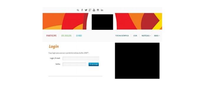 Site falso rouba credenciais de funcionários da COB (Foto: Divulgação/Kaspersky Lab)