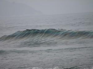 Vazamento de óleo diesel atinge a praia de Maresias em São Sebastião (Foto: Divulgação/Prefeitura de Caraguatatuba)