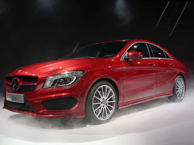 Na versão topo de linha nos EUA e na Europa, o CLA será vendido com motor de 211 hp (Foto: AFP)
