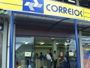 correios espírito santo (Foto: Carlos Alberto da Silva / Jornal A Gazeta)