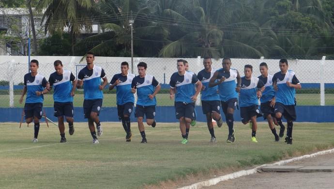 Treino do CSA (Foto: Leonardo Freire/GloboEsporte.com)