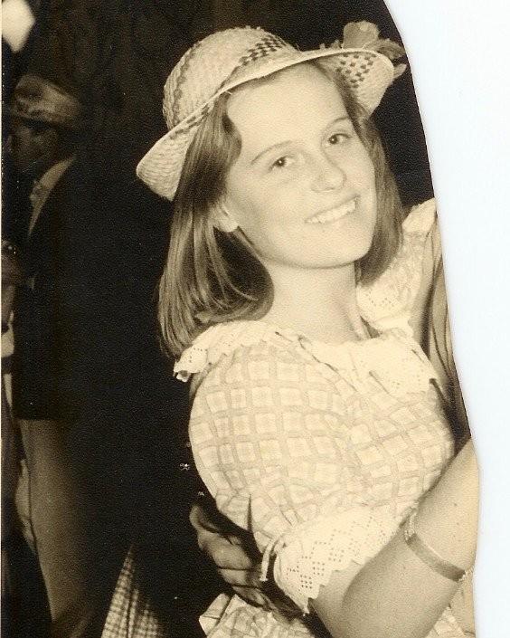 Ana Maria Braga na adolescência (Foto: Instagram/Reprodução)