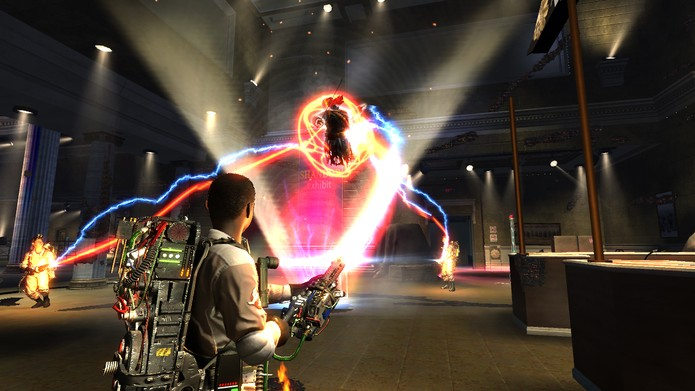 Ghostbusters: The Video Game foi um dos melhores da série (Foto: Divulgação/Activision)