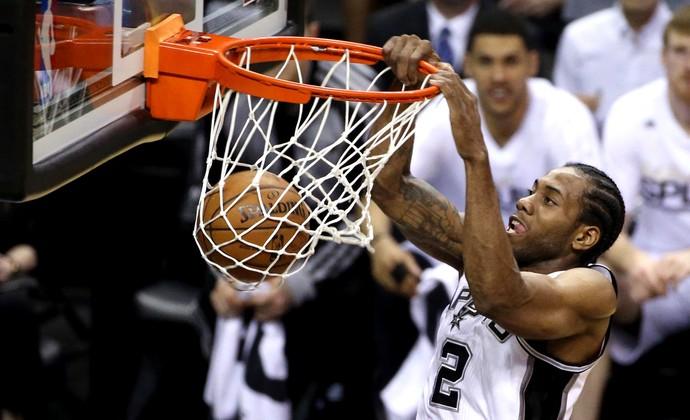 Kawhi Leonard Miami Heat x San Antonio Spurs NBA Jogo 5 (Foto: Reuters)