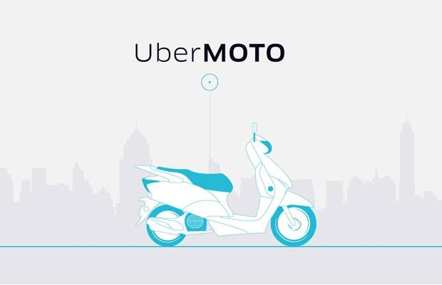 UberMOTO é novo serviço de transporte com motos criado pelo Uber na Tailândia. (Foto: Divulgação/Uber)