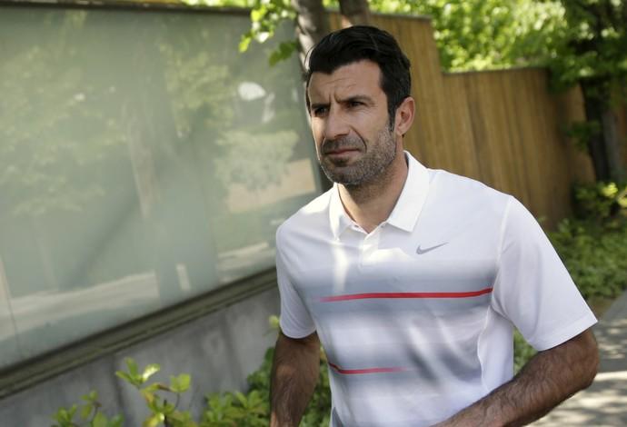 Figo - entrevista sobre Fifa (Foto: Reuters)