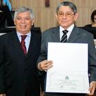Professor é homenageado na Câmara (Getúlio de Abreu/Unifor)