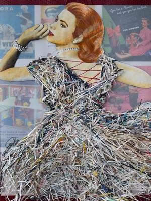 Obra de Lisandra Miguel da colação Mulheres será exposta em Nova York (Foto: Divulgação)