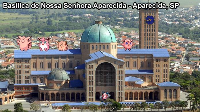 Pokémons do tipo Fada gostam de ficar próximos a igrejas em Pokémon Go (Foto: Reprodução/Rafael Monteiro)