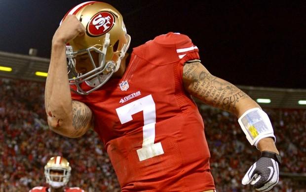 Colin Kaepernick, do San Francisco 49ers (Foto: Getty Images)
