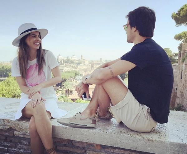 Sthefany Brito e namorado em Roma (Foto: Reprodução / Instagram)