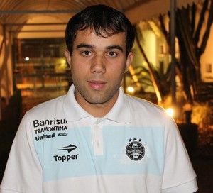 Wangler, meia do Grêmio (Foto: Diego Guichard/GLOBOESPORTE.COM)