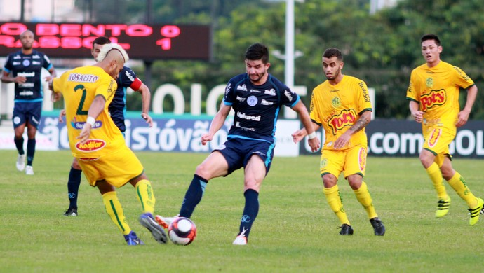 São Bento x Mirassol, Torneio do Interior (Foto: Jesus Vicente / Repórter Autônomo)
