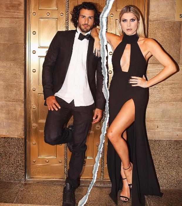 Julia Faria e Steve Gold (Foto: Reprodução/ Instagram)