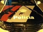 Homem é detido com armas e réplica de fuzil em bairro de Araçatuba