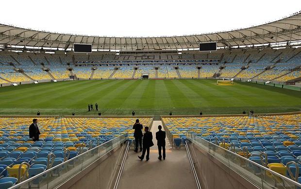 vistoria segurança Maracanã jogo (Foto: Reuters)