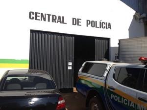 Central de Flagrantes em Porto Velho (Foto: Gaia Quiquiô/G1)