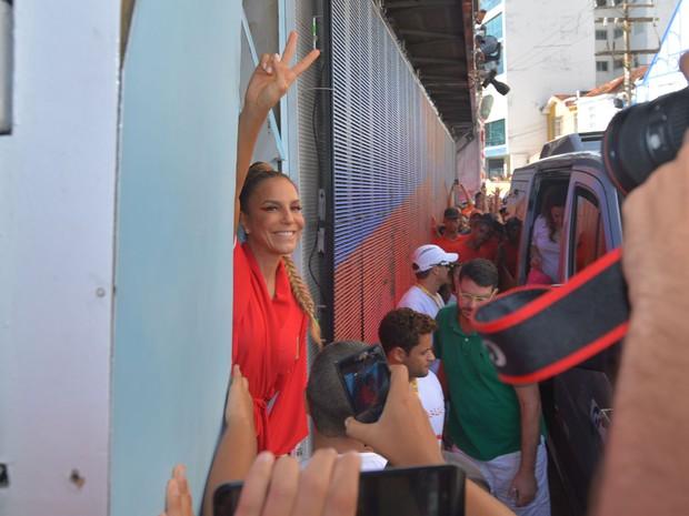 Ivete Sangalo chega ao trio (Foto: Max Haack/Ag Haack)