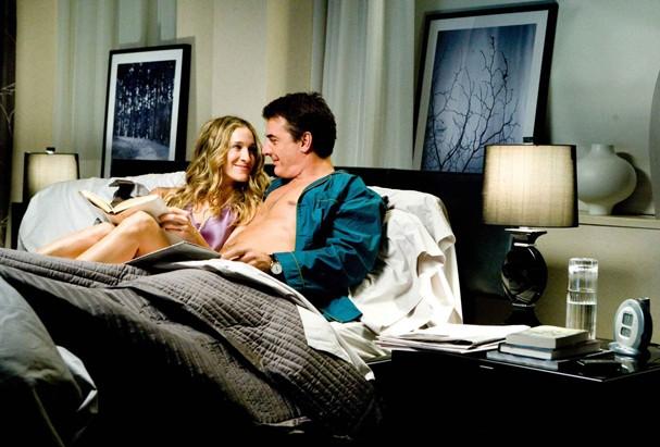 Carrie e Mr.Big: quais serão as armas deles pra apimentar o casamento? (Foto: Divulgação)