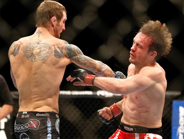 Brad Pickett e Eddie Wineland, UFC 155 (Foto: Getty Images)