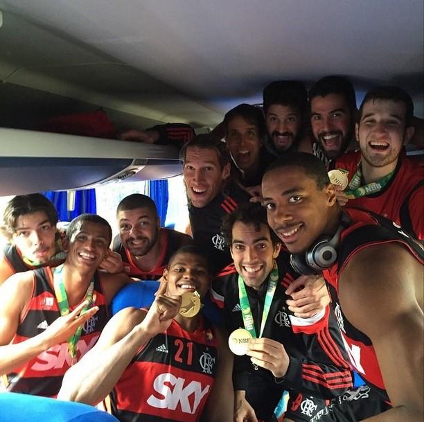 Benite, Flamengo, Basquete, NBB (Foto: Instagram)