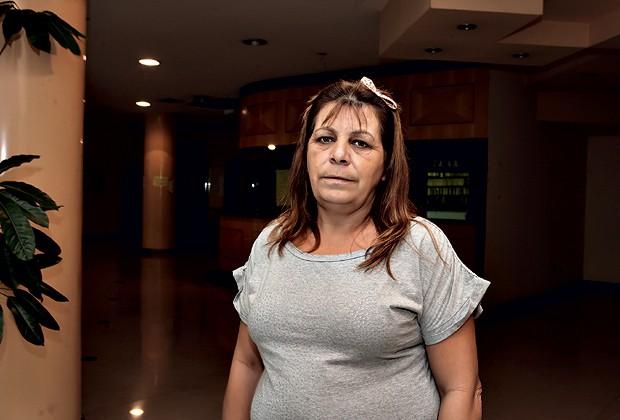 SÍNDICA: MARIA DO PLANALTO É A GUARDIÃ DAS REGRAS DE CONVIVÊNCIA DENTRO DO PRÉDIO LORD PALACE (Foto: Manoel Marques)