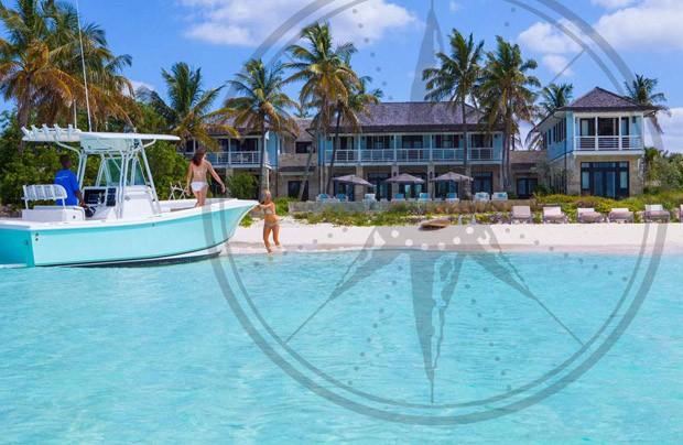 Kim Kardashian e Kanye West ficaram hospedados em Barbados no Baker's Bay Golf and Ocean Club (Foto: Divulgação/Baker's Bay Golf and Ocean Club)