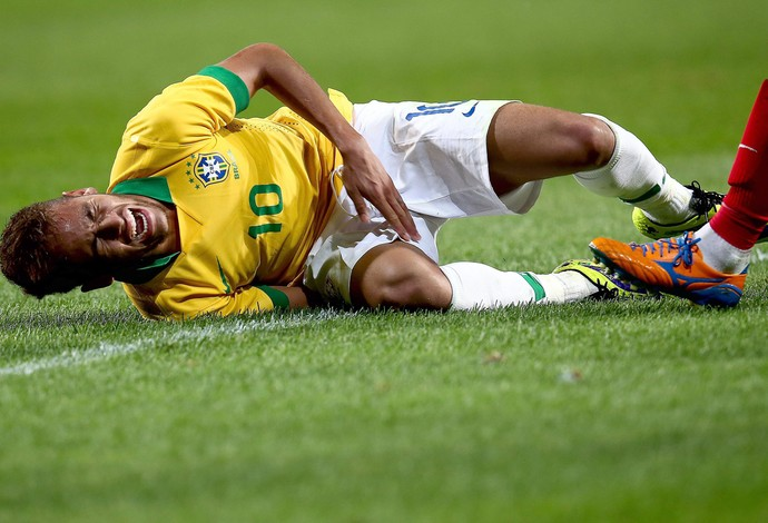 Neymar Brasil x Coreia (Foto: EFE)