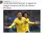 CBF aceita pedido do Barcelona, e Neymar jogará apenas as Olimpíadas
