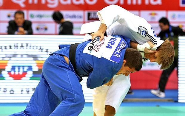 Victor Penalber na luta do Grand Prix de judô (Foto: Site Oficial da Federação Internacional de Judô)