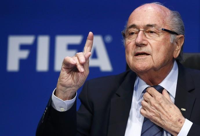Joseph Blatter Congresso na Fifa (Foto: Reuters)