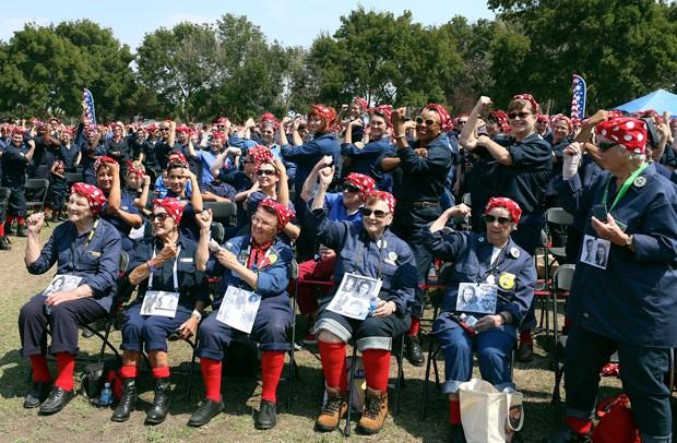 Segundo organização, mais de 800 mulheres participaram do evento (Foto: Anda Chu/The Contra Costa Times/AP)