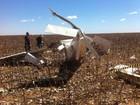 Vítimas de queda de avião na BA são transferidas para UTI em estado grave