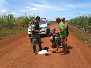 Polícia ambiental faz operação contra pesca irregular no Triângulo Mineiro (Foto: Polícia Militar/Divulgação)